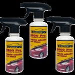 คิวเทอร์ฟ เคลือบสีรถสูตรน้ำ (Qturf B 600 pro car polish protection) 450 มล. ชุด 3 ขวด