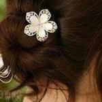 F528 - Hair Accessories,ที่คาดผม,เครื่องประดับผม,กิ๊ปติดผม,เครื่องประดับ flower hair accessories