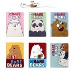 เคสการ์ตูน We BARE BEARS (เคส iPad 2/3/4)