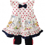 **Winnie's** SM1731 Size 12, 18, 24m เสื้อผ้าเด็กขายส่งยกแพค 6 ชุด ครบไซส์
