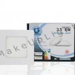 LED PANEL SLIM 6w Square 3.5inc สินค้ารับประกัน 2 ปี มี มอก.