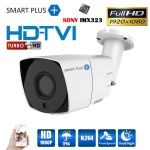 Bullet : SMART PLUS+ CCTV HDTVI 2MP 1080p (SMARTPLUS-2M-B02) แบบมีสาย