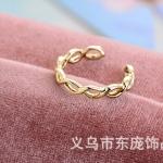 AX2504 - แหวนทอง,แหวน,ทองคำ,เครื่องประดับ Korean fashion creative new tail ring