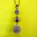 529 Glittering Diamond balls ลูกบอลล์เพชรเสริมดวง 2.0* 2.5 cm