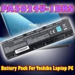 แบตเตอรี่แพครุ่น PA5024U-1BRS สำหรับโน้ตบุ๊ค Toshiba