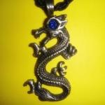 419 Blue Dragon ขนาด 3 * 4.5 cm มังกรน้ำเงิน