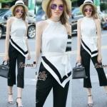 Lady Ribbon Online เสื้อผ้าออนไลน์ขายส่ง Normal Ally เสื้อผ้า NA13180816 &#x1F389Normal Ally Present Boutique Hi class elegance style set&#x1F389