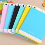 NX CASE ซิลิโคน TPU สีทูโทน (เคส iPad mini 1/2/3)