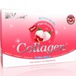 ชาเม่ คอลลาเจน Chame collagen สตอว์เบอรี่ by เชียร ฑิฆัมพร 1 กล่อง