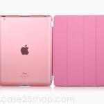 (สีชมพู) Smart Cover แยกชิ้นส่วนออกจากกันได้ (เคส iPad 2/3/4)