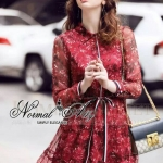 Normal Ally Present Summer Flower print Dress