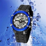 OHSEN – AD0913-2: Dual System Alarm / Chronograph Sports Watch