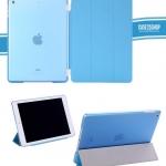 (สีฟ้า) Smart Cover แยกชิ้นส่วนออกจากกันได้ (เคส iPad Air 1)