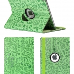 เคสการ์ตูนหนังปั๊ม หมุนได้ 360 องศา (เคส iPad mini 4)