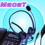 M202T Binaural Telephone Headset With Talk-Control