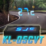 KL-05CVT CAR CLOCK/VOLTAGE & THERMOMETER HUD
