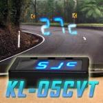 KL-05CVT CAR CLOCK/VOLTAGE & THERMOMETER HUD