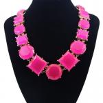 y1456 - สร้อยหิน สร้อยคอ สร้อยหินนำโชค เครื่องประดับ big diamond necklace chain