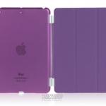 (สี่ม่วง) Smart Cover แยกชิ้นส่วนออกจากกันได้ (เคส iPad mini 1/2/3)