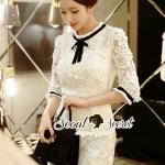 Bowwy Lady Rimmy Lace Dress