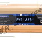 อินเวอเตอร์ Modified Sine Inverter 1200W 24V รุ่นใหม่ไฟ LED แสดงสถานะ