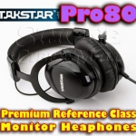 Takstar Pro80 – Premium Reference Class Monitor Headphones