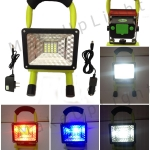 LED FLOOD LIGHT RECHARGEABLE 15W ไฟฉุกเฉิน