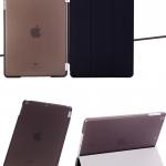 (สีดำ) Smart Cover แยกชิ้นส่วนออกจากกันได้ (เคส iPad Air 1)