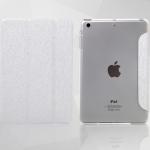 MOOKE ด้านหลังเป็นกรอบใสโชว์โลโก้ Apple (เคส iPad mini 1/2/3)