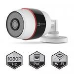 EZVIZ (Weatherproof C3S (PoE) (4mm)) กล้อง IPCAMERA Outdoor แบบใส่เมม