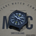 MWC G10 100m Tritium GTLS Black Titanium Military Watch