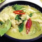 แกงเขียวหวาน Chicken green curry