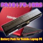 Battery Pack For Toshiba Laptop PC - PA3817U-1BAS, PA3817U-1BRS, PA3819U-1BRS, PABAS228