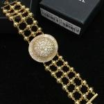 Diamond Bracelet งานชุบทอง 18K งานเพชรสวยๆ ใส่เต็มๆข้อมือ