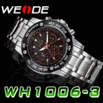 WEIDE – WH-1006-3: Dual Time Swiss Movement Watch