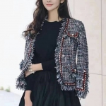Embellished Tweed Jacket