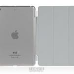 (สี่เทา) Smart Cover แยกชิ้นส่วนออกจากกันได้ (เคส iPad mini 1/2/3)