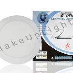 LED PANEL SLIM 24w Round 12 inc สินค้ารับประกัน 2 ปี มี มอก.
