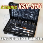 STARNIC KSN-553 33 Pcs. 1/4