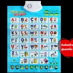 กระดานเรียนรู้ภาษา อังกฤษ Puzzle Card with Sound ส่งฟรี