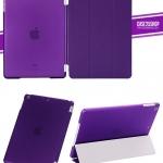 (สีม่วง) Smart Cover แยกชิ้นส่วนออกจากกันได้ (เคส iPad Air 1)