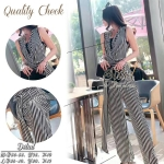 Sister made, Smart & Simple Classic Tone Style Lady Jumpsuit