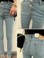 กางเกงยีนส์แฟชั่นขายาว Size M