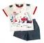 **MonOURS** SM1678 Size 12, 18, 24 เดือน เสื้อผ้าเด็กชาย ชุด 3 ชิ้น มีเสื้อตัวใน ขายส่งเสื้อผ้าเด็ก ยกแพค 6 ชุดต่อแบบ ครบไซส์ thumbnail 1