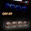 QM-09 : Dual Color Analog VU Meter + Temp. + Volt Meters thumbnail 1