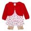 เสื้อผ้าเด็กขายส่ง ชุด 3 ชิ้น ชุดกระโปรง พร้อมเสื้อคลุมผ้าคอตตอนเนื้อนุ่ม สวยน่ารัก Size 3/6, 6/9, 9/12 เดือน thumbnail 1