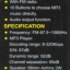 วิทยุพกพา FM MP3 L-938 สีดำ thumbnail 8
