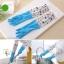 ถุงมือยางใส่ทำความสะอาด ปกป้องผิวจากสารเคมี กันน้ำ (รุ่นยาวพิเศษ) thumbnail 9