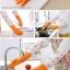ถุงมือยางใส่ทำความสะอาด ปกป้องผิวจากสารเคมี กันน้ำ (รุ่นยาวพิเศษ) thumbnail 12