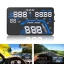 GPS-07 Car GPS HUD With Speed Warning [GPS Head-Up Display] thumbnail 2